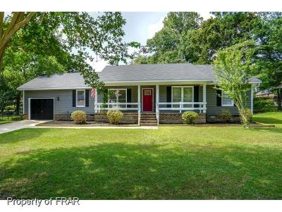 Fayetteville NC Single Family Home For Sale: $142,000