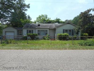 Fayetteville NC Single Family Home For Sale: $68,000