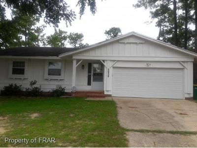 Hope Mills NC Single Family Home For Sale: $113,900