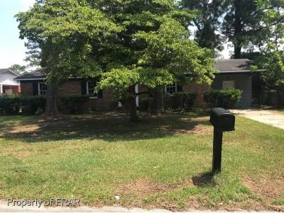 Fayetteville NC Single Family Home For Sale: $43,600