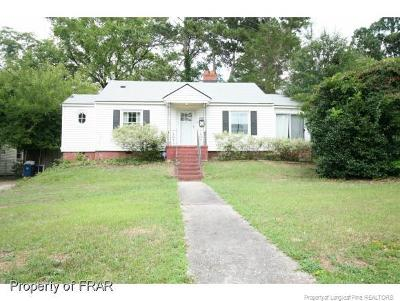 Fayetteville NC Single Family Home For Sale: $102,000