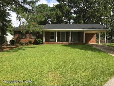 Fayetteville NC Single Family Home For Sale: $75,500