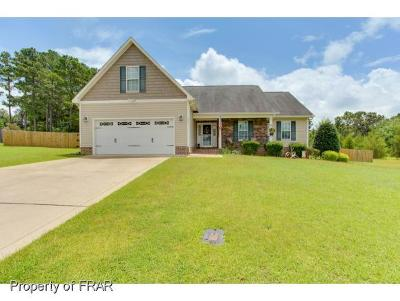Raeford NC Single Family Home For Sale: $208,000