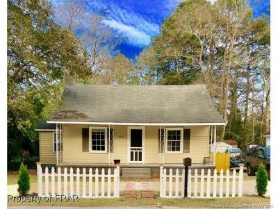 Hope Mills NC Single Family Home For Sale: $74,000