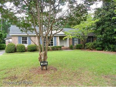 Fayetteville Single Family Home For Sale: 2802 Millbrook Road