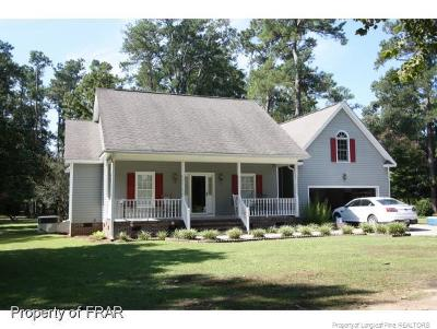 Robeson County Single Family Home For Sale: 125 Parnell Road