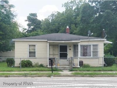 Fayetteville NC Single Family Home For Sale: $27,000