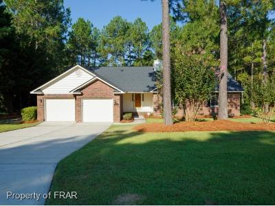 Fayetteville NC Single Family Home For Sale: $217,000