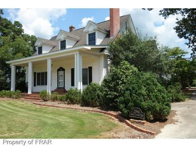 Robeson County Single Family Home For Sale: 2961 Olivet Church Road