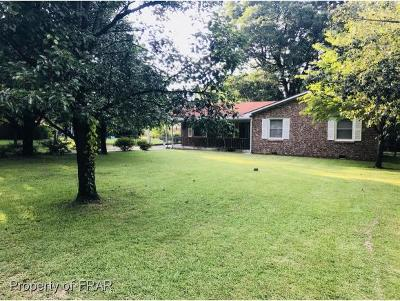 Fayetteville NC Single Family Home For Sale: $92,900