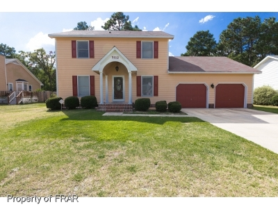 Fayetteville NC Single Family Home For Sale: $174,900
