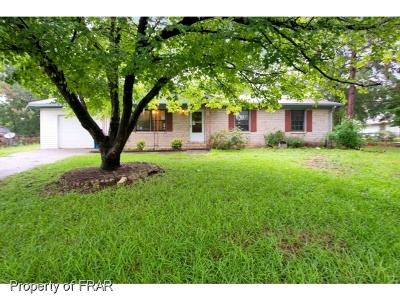 Fayetteville Single Family Home For Sale: 1905 Elkton Ct