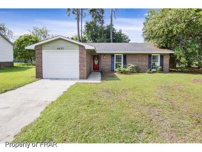 Fayetteville Single Family Home For Sale: 6635 Suga Circle #62
