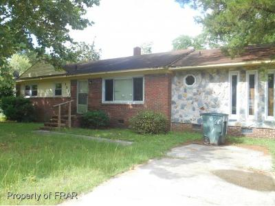 Fayetteville Single Family Home For Sale: 3513 Rosehill Road