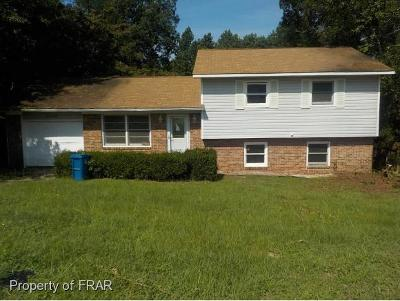 Fayetteville Single Family Home For Sale: 2248 Memory St