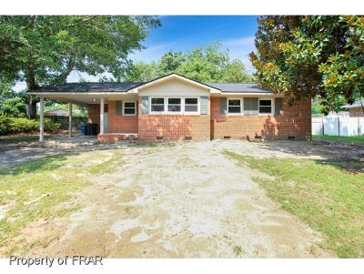 Fayetteville NC Single Family Home For Sale: $104,500