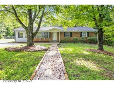Fayetteville NC Single Family Home For Sale: $117,000