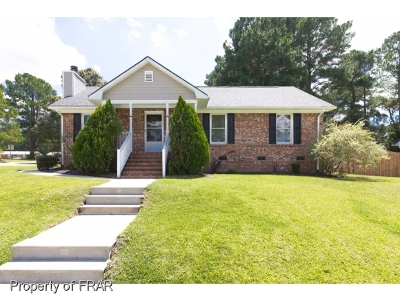 Fayetteville NC Single Family Home For Sale: $108,000