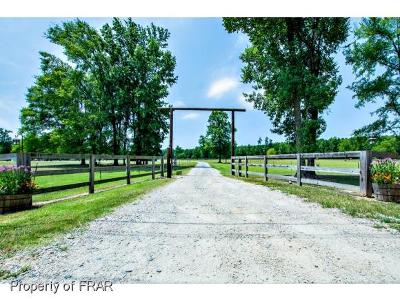Fayetteville Single Family Home For Sale: 2132 Evans Dairy Road