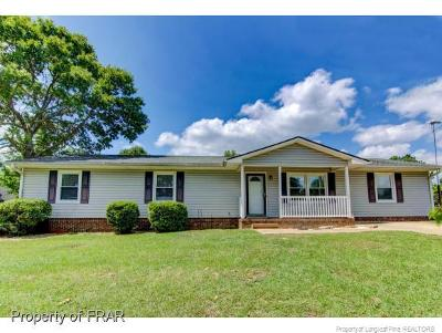 Hope Mills NC Single Family Home For Sale: $118,500