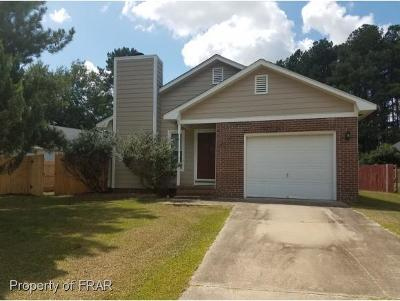 Fayetteville NC Single Family Home For Sale: $88,000