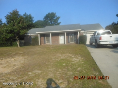 Hope Mills NC Single Family Home For Sale: $47,500