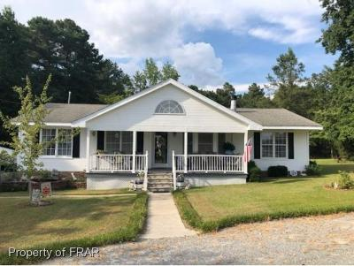 Red Springs Single Family Home For Sale: 1495 Cope Road