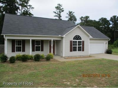 Hope Mills NC Single Family Home For Sale: $99,450