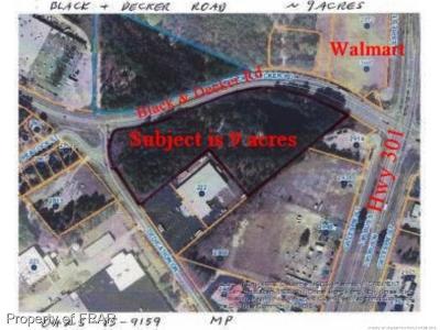 Fayetteville Residential Lots & Land For Sale: Black & Decker Rd