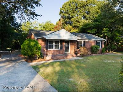 Fayetteville NC Single Family Home For Sale: $92,000