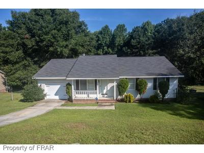 Fayetteville NC Single Family Home For Sale: $90,000