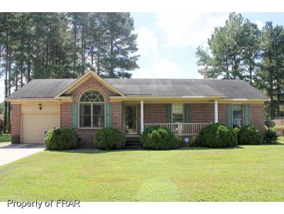 Fayetteville NC Single Family Home For Sale: $95,000