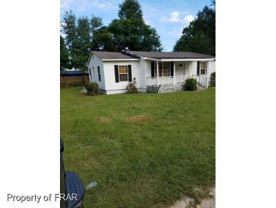 Fayetteville NC Single Family Home For Sale: $38,000