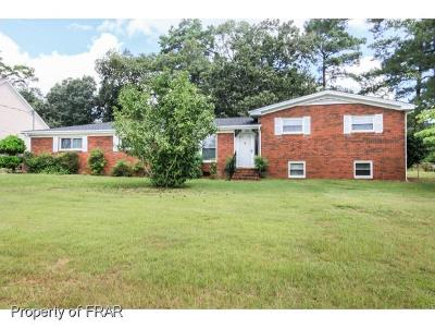Fayetteville Single Family Home For Sale: 3212 Guy Circle #7