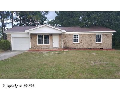 Fayetteville NC Single Family Home For Sale: $94,500