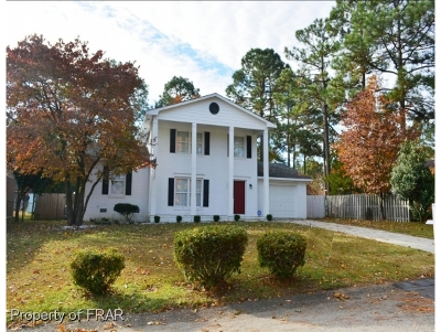Fayetteville NC Single Family Home For Sale: $140,000