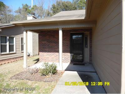 Fayetteville NC Single Family Home For Sale: $79,500