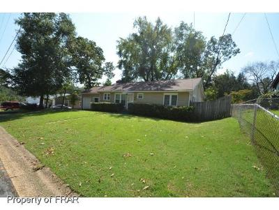 Fayetteville NC Single Family Home For Sale: $94,900