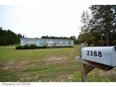 Hope Mills NC Single Family Home For Sale: $75,900