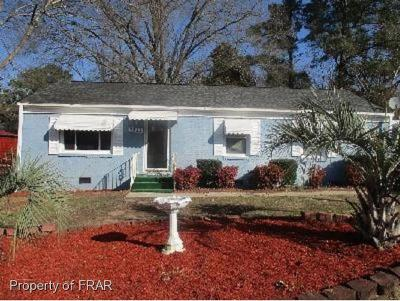 Fayetteville NC Single Family Home For Sale: $63,500