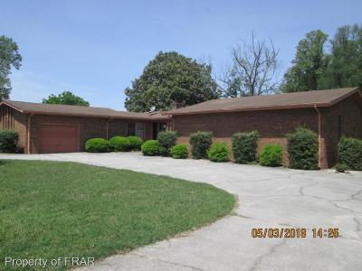 Sampson County Single Family Home For Sale: 2550 Hollerin Rd