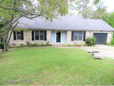 Fayetteville NC Single Family Home For Sale: $141,000