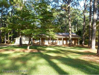 Raeford Single Family Home For Sale: 606 Lewis St