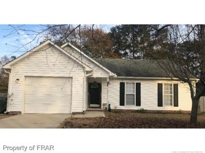Hope Mills NC Single Family Home For Sale: $119,900