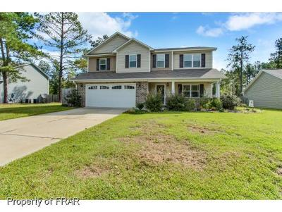 Hope Mills NC Single Family Home For Sale: $215,000