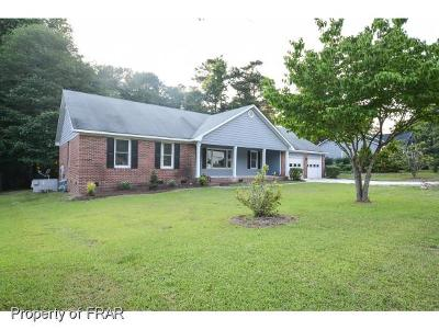 Fayetteville NC Single Family Home For Sale: $165,000