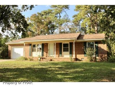 Fayetteville Single Family Home For Sale: 4744 Friar Avenue