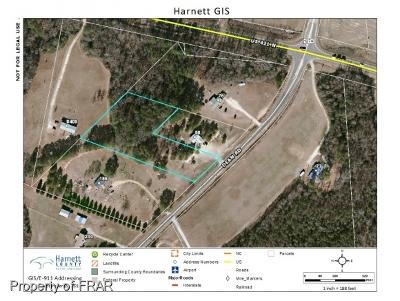 Harnett County Residential Lots & Land For Sale: Dean Rd