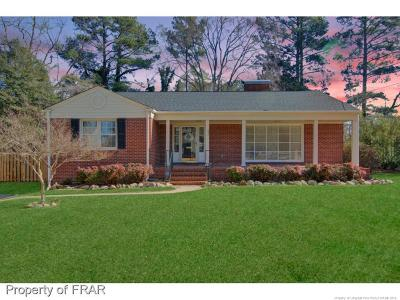 Fayetteville Single Family Home For Sale: 604 Forest Road