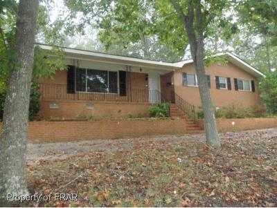 Fayetteville NC Single Family Home For Sale: $135,500